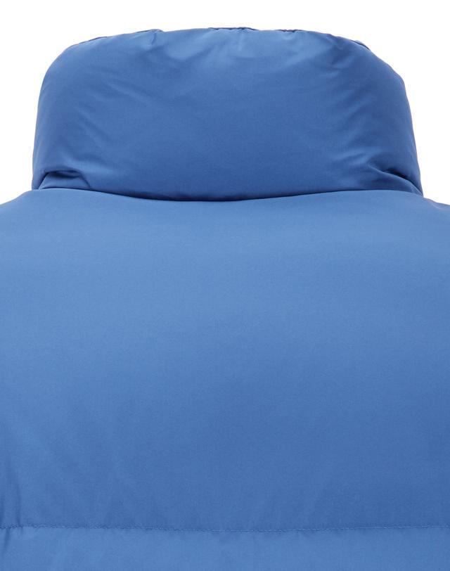 티엔지티(TNGT) 블루 단색 구스다운점퍼 TGJU9D802B2
