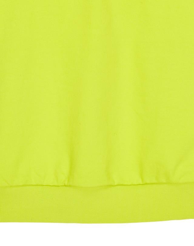 일꼬르소(IL CORSO) 옐로우 슈퍼오버핏 자가드 스웨트 IETS9E001Y2