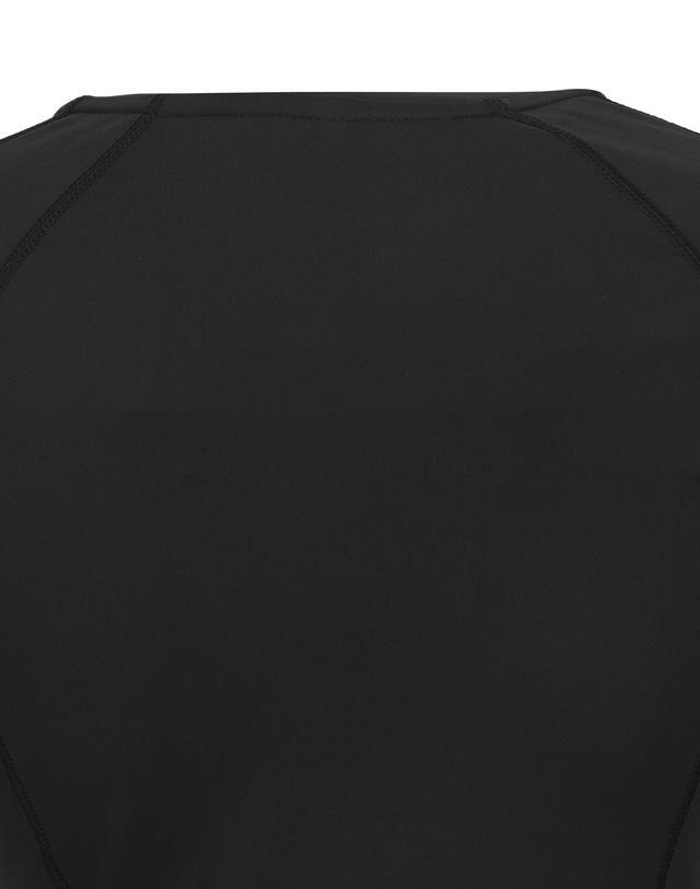 질스튜어트 스포츠 뉴욕(JILLSTUART SPORT NEWYORK) [Solid Gymkini JK] 블랙 라인배색 여성 래쉬가드 JFSR9B431BK