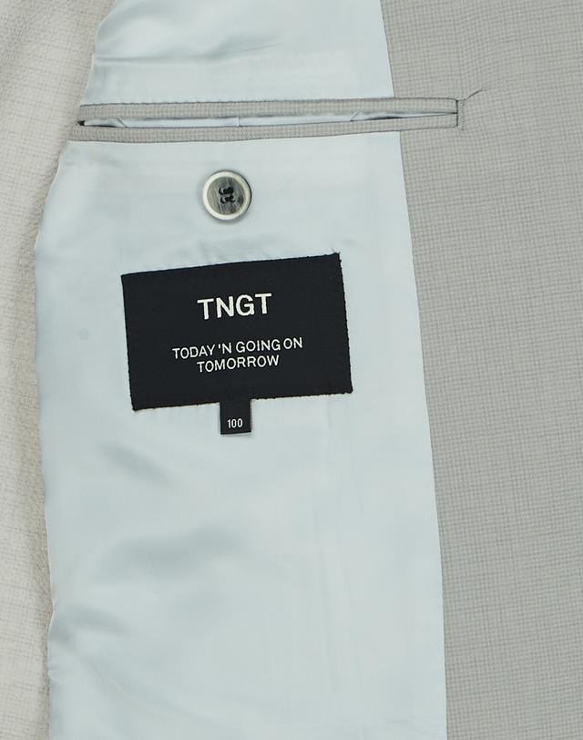 티엔지티(TNGT) 그레이 단색 긴팔자켓 TGJA9B541G1