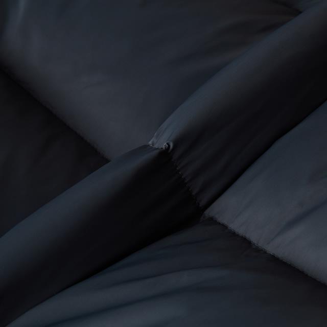 티엔지티(TNGT) 그레이 단색 구스다운점퍼 TGJU9D363G2