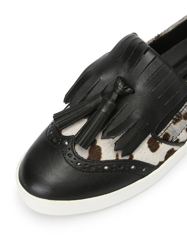 GrandPro Spectator Kiltie Tassel Slip-on Sneaker