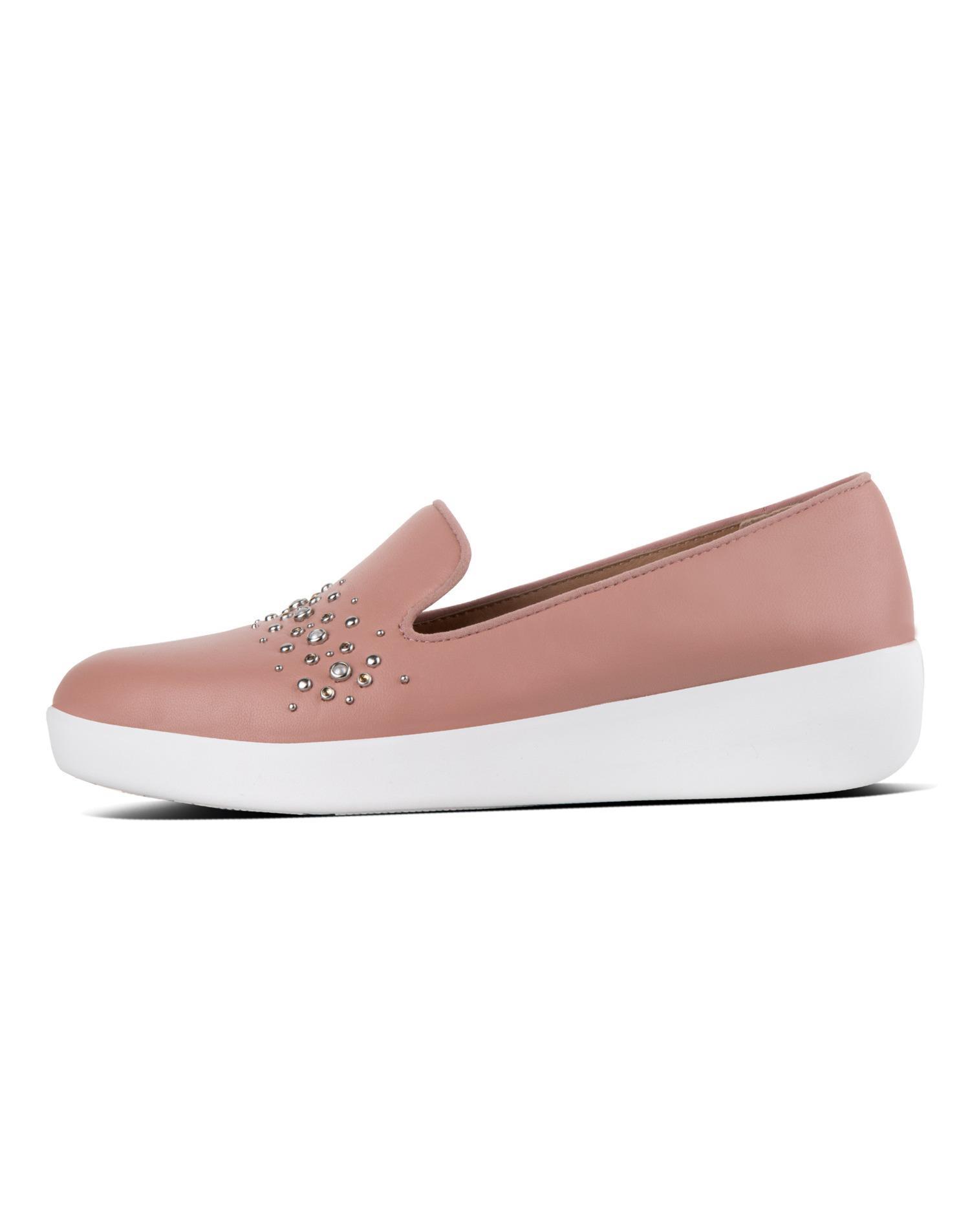 [오드리펄스터드스모킹] 핑크 레더 여성