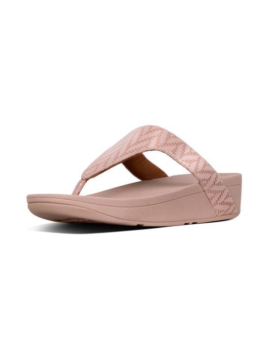 [로티쉐브론] 핑크 스웨이드 여성