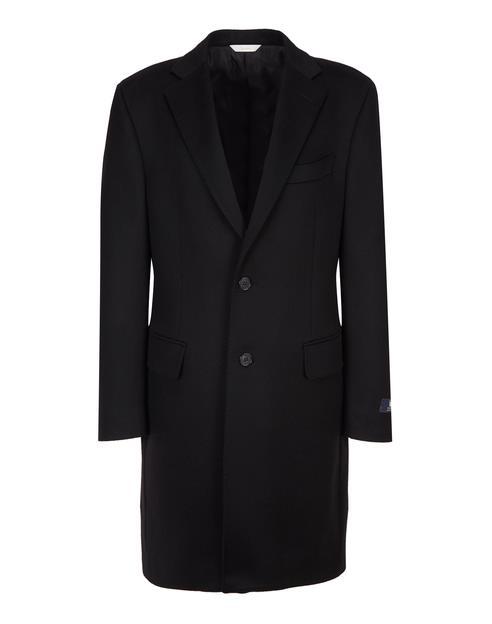 [COLOMBO]블랙 캐시미어100% 체스터 코트