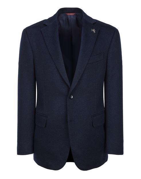 [COLOMBO]캐시미어100 네이비 솔리드 자켓