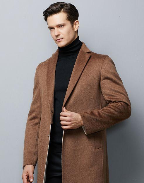 [워셔블]울혼방 블랙 터틀넥 스웨터
