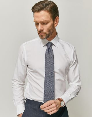 [iron-free]이지케어 화이트 드레스 셔츠