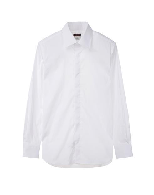[이태리]고급 스트레치 화이트 드레스셔츠