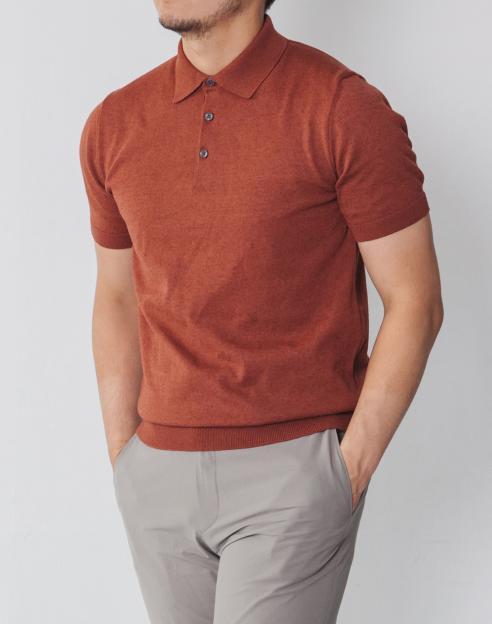 [워셔블]쿨터치 브라운 썸머 티에리 니트