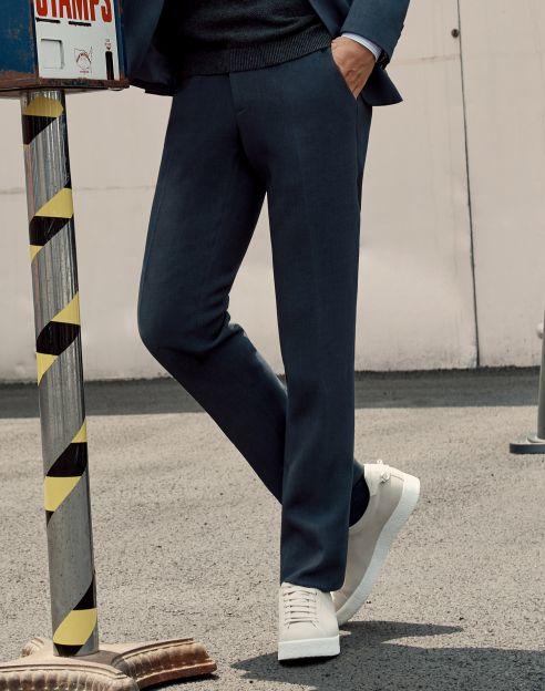 [박보검 착용]그린 히든밴딩 팬츠